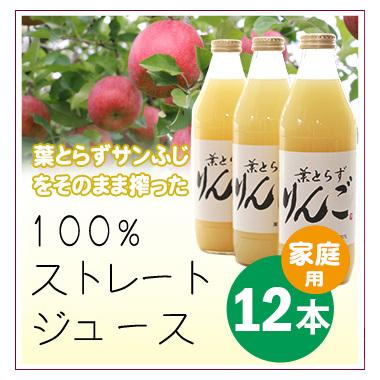 リンゴジュース(家庭用)12本